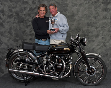 Mitch Talcove, 1951 Vincent Black Shadow. Winner People's Choice Award.