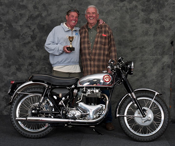 Tom O'Callaghan, 1963 BSA Rocket Gold Star. Winner Roland Pike Award for Best BSA Gold Star