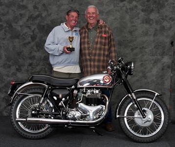 Tom O'Callaghan, 1963 BSA Rocket Gold Star. Winner Roland Pike Award for Best BSA Gold Star
