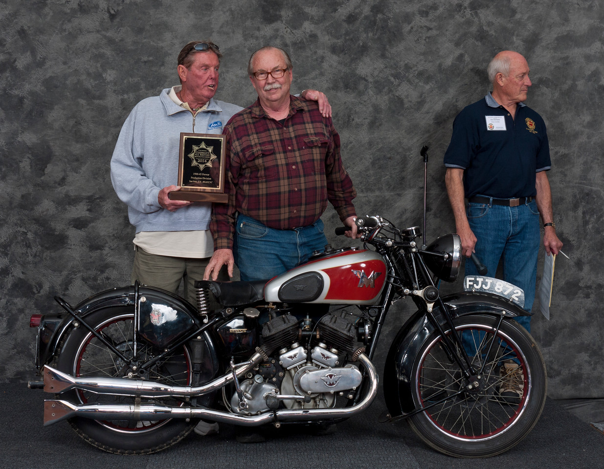 Fred Mork, 1939 Matchless Model X. Class: Pre-War, Production