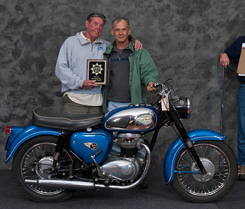 Dan Boos, 1963 BSA A50 Star .  Class:  Silver Star Award - Preservation