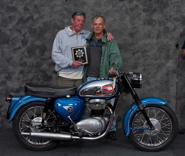 Dan Boos, 1964 BSA A50 Star .  Class:  Silver Star Award - Preservation
