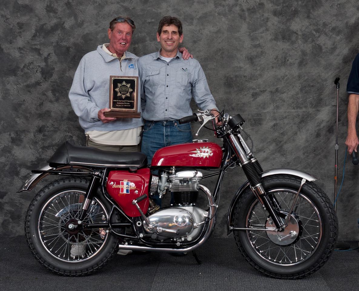 Gary Edwards,  1967 BSA Hornet West Coast Model. Class: Speedway/Flattrack/TT 1946-1989