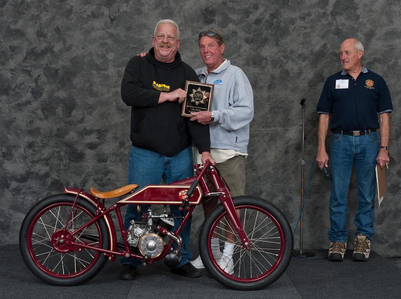 Vincent Schardt.  1948 James ML 125 Board Track Racer. Class: Speedway/Flatrack/TT 1946-1989
