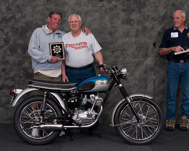 Phil Davis, 1964 Triumph T20SS Tiger Cup. Class: Silver Star Award