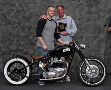 Noah Levy, 1967 Triumph TT Special. Winner, Silver Star Award