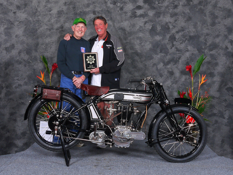 Paul	Adams, People's Choice , Oldest Bike, & Oldest Norton, 1924 Norton 1B