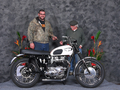Jeff	Sunzeri, Honorable Mention/Silver Star Award, 1966 Triumph TT Special