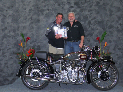 Robert Watson, Best Vincent,  and Longest Distance Award, 1939 Vincent Rapide
