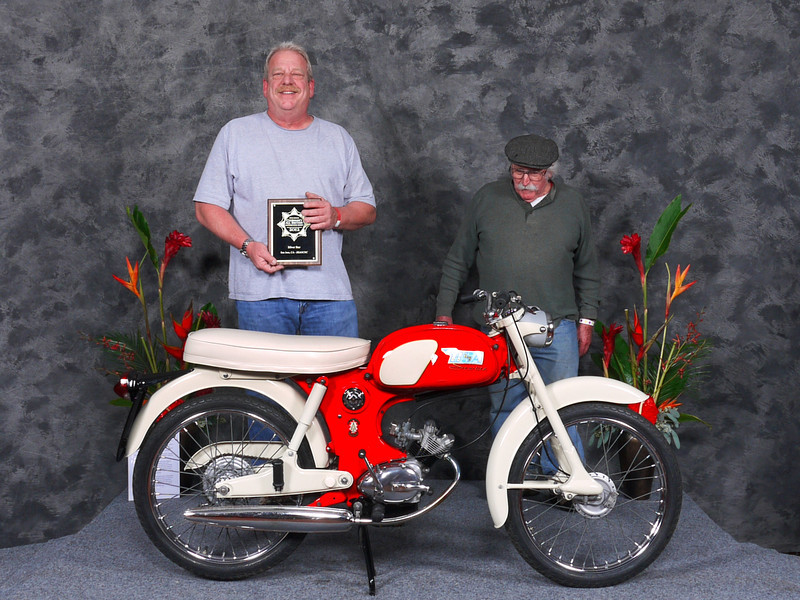 Vincent Schardt, Honorable Mention/Silver Star Award,1965 BSA Starlite