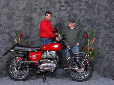 Gary	 Edwards, Honorable Mention/Silver Star Award, 1967 BSA A65H Hornet (East Coast)