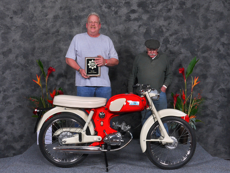Vincent Schardt, Honorable Mention/Silver Star Award,	1965 BSA Starlite