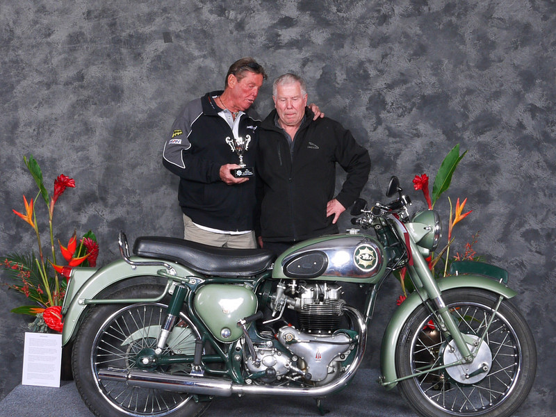 Dale Baston, Best Pre-Unit BSA, 1955, BSA A7SS Shooting Star