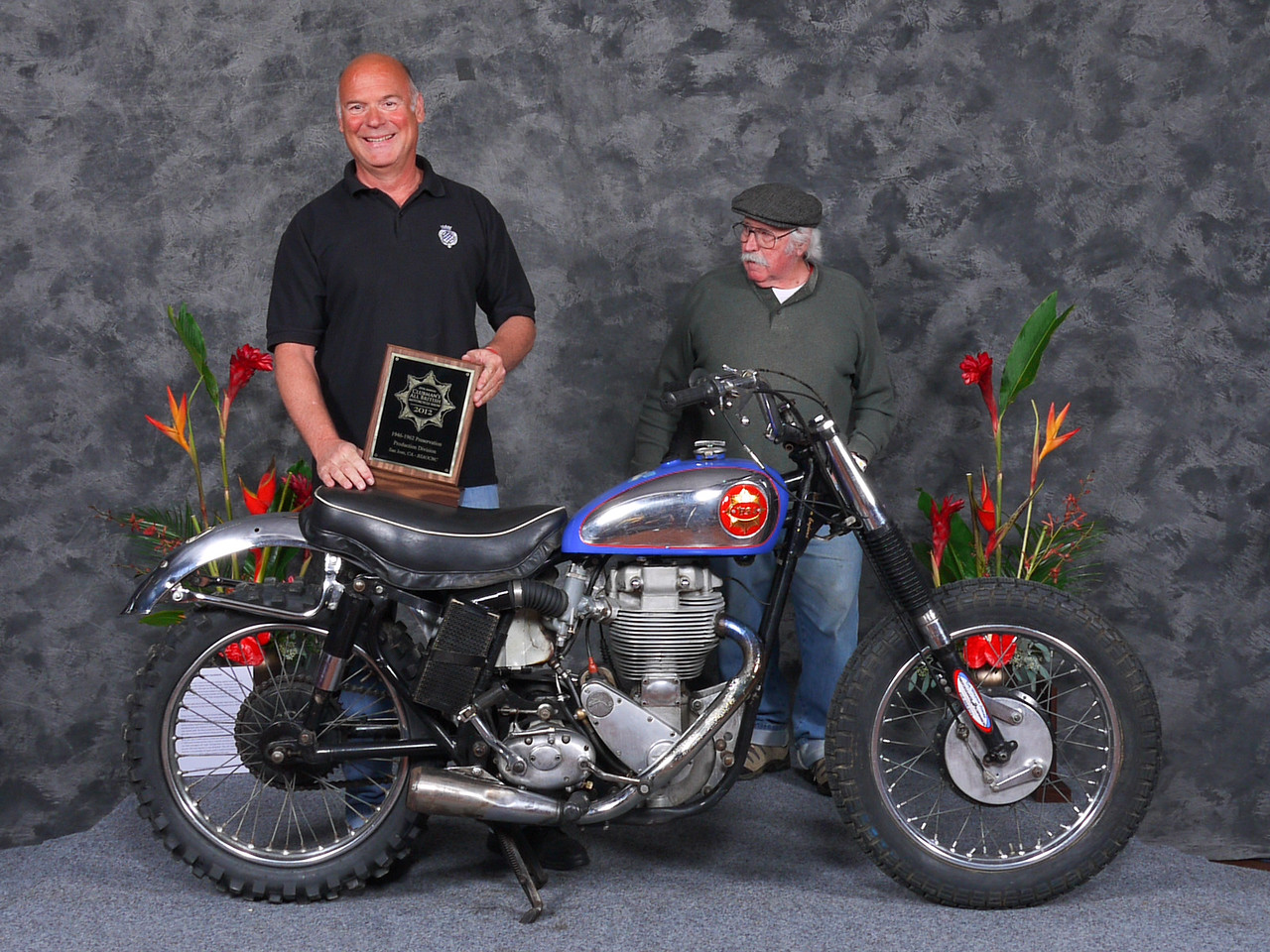 "Craig Boone, ""Preservation 1946-1962, Production"", 1956 BSA Gold Star Catalina Scrambler"