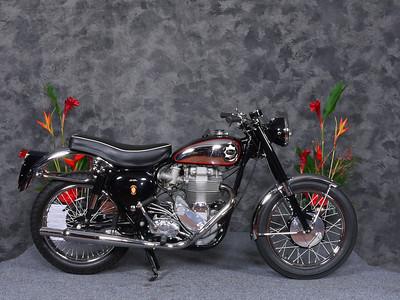 1957 BSA Goldstar raffle bike, won by David Hunter of Hong Kong