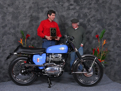 "Gary	Edwards,	""Speedway/Flattrack/TT 1946-1983, Production""	1967 BSA A50 Wasp"