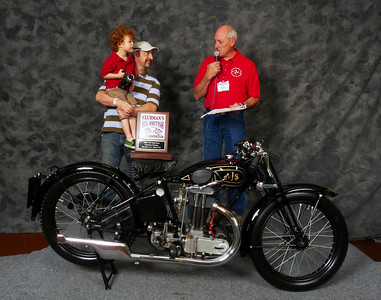 Francesco Longoni, Roadrace 1900-1945, 1931 AJS SB6