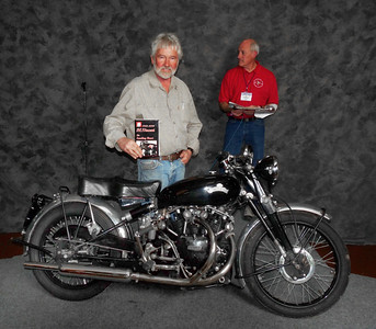 Ron Jolliffe, Best Vincent 1954 Vincent Black Shadow Series C