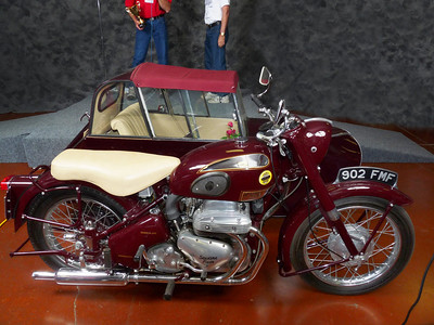 James Shaffer's People's Choice, 1956 Ariel Square Four Outfit