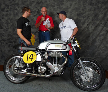 Ed Bussing, Flat Track/TT/Speedway 1946-1983, ridden, 1963 Norton ES2 Modified