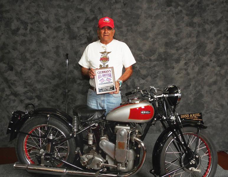 Jim Travis, Street Heavyweight over 620cc, 1900-1945, ridden, 1933 Ariel OHC Square Four
