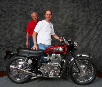 Rick King, Street Heavyweight 620cc-up 1963-1970, 1967 Royal Enfield Interceptor 1A