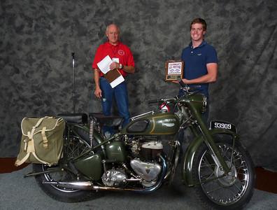 Derek Schmitz, All military models 1900-Present, ridden, 1957 Triumph TRW