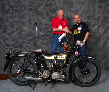 Craig Howell, Winner Street Lightweight to 499cc 1900-1945, ridden, 1927 BSA Model B Deluxe