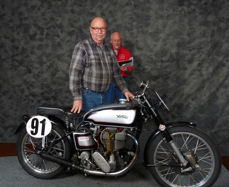 Fred Mork, Roadrace 1900-1945, ridden, 1939Norton Manx
