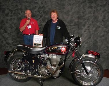 Sam Whiteside, Street Middleweight 500-620cc 1946-1962, ridden, 1961 BSA DBD34 Gold Star