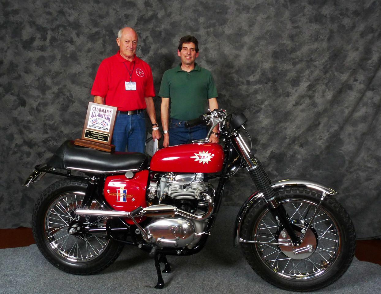 Gary Edwards, Flat Track/TT/Speedway 1946-1983, 1967 BSA A65H Hornet (East Coast)