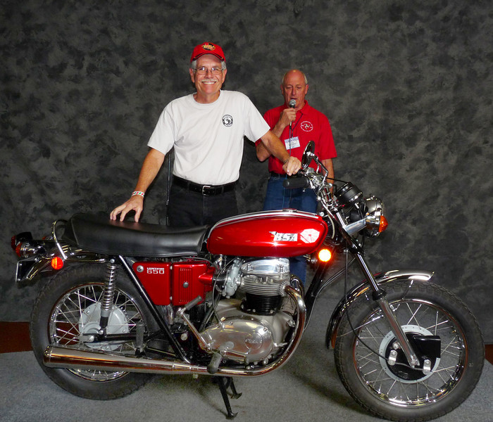Norman Kerr, Street Heavyweight 620cc-up 1971-1983, ridden, 1971 BSA A65 Lightning