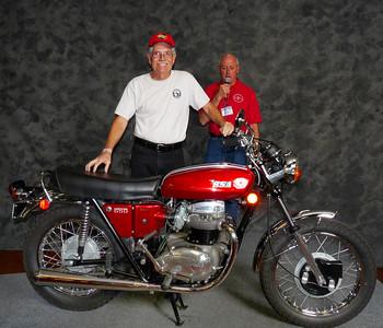 Norman Kerr, Street Heavyweight 620cc-up 1971-1983, ridden, 1971 BSA A65 Lightning