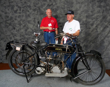 Richard Hardmeyer, Best Pre-War, 1919 Ariel 500