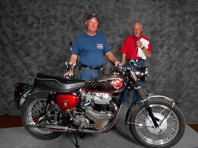Jerry Garrett, Best Pre-Unit BSA, 1963 BSA Rocket Gold Star