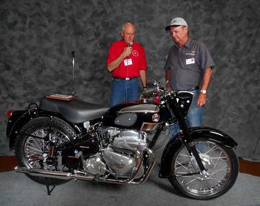 Bob Ives, Street Heavyweight 620cc-up 1946-1962, ridden, 1958 Ariel Square Four