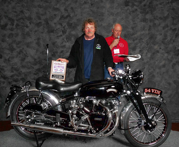 Sam, Whiteside, Honorable Mention, Street Heavyweight 620cc-up 1946-1962, ridden, 1954 Vincent Black Shadow