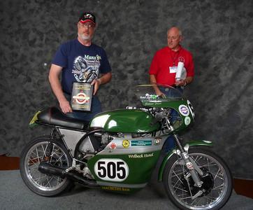 Ron Halem, Roland Pike Award, Best BSA Gold Star, 1960 BSA Gold Star Manx Racer
