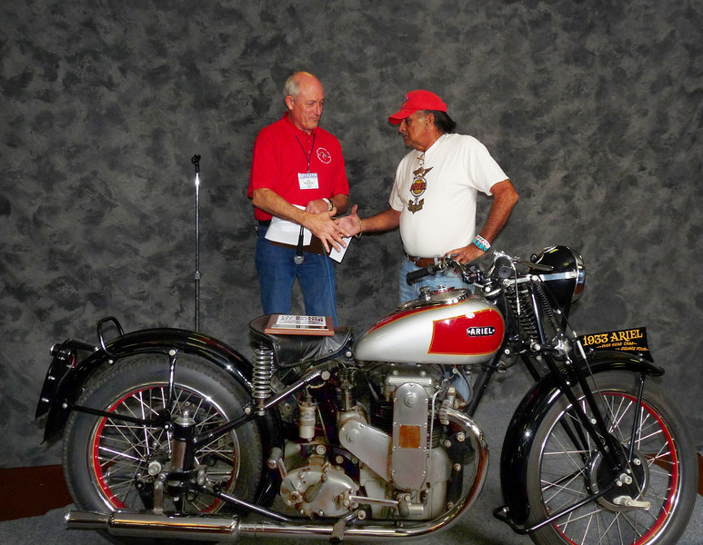 Jim Travis, Street Heavyweight over 620cc, 1900-1945, ridden, 1933 Ariel OHC Square Four