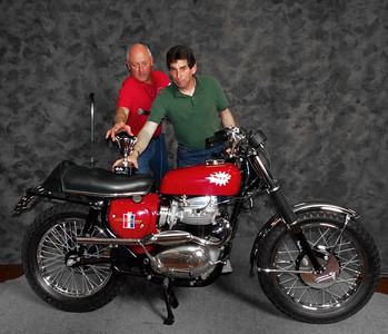 Gary Edwards, Best Unit BSA, 1967 BSA A65H Hornet (East Coast)
