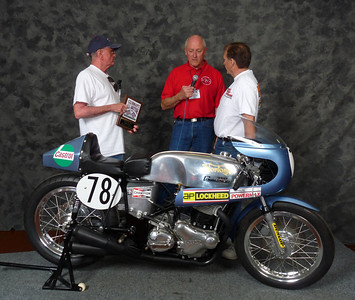 Joe Johnson, Roadrace 1946-1983, ridden, 1970 Norton Commando