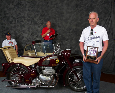 James Shaffer, People's Choice Award,  1956 Ariel Square Four Outfit