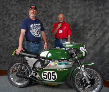 Ron Halem, Roland Pike Award, Best BSA Gold Star, 1960 BSA Gold Star Manx Racer