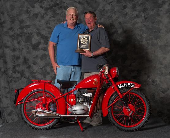 Vincent Schardt,1950 BSA D1 Bantam GPO Winning class: Street Lightweight 1946-1962, Production