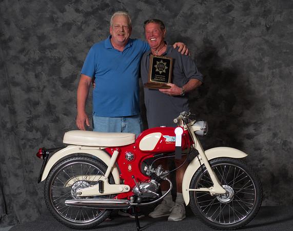 Vincent Schardt, 1965 BSA Starlite, Winning class: Street Lightweight 1963-1970, Production