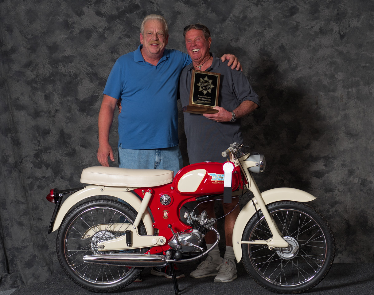 Vincent Schardt, 1965 BSA Starlite	, Winning class: Street Lightweight 1963-1970, Production