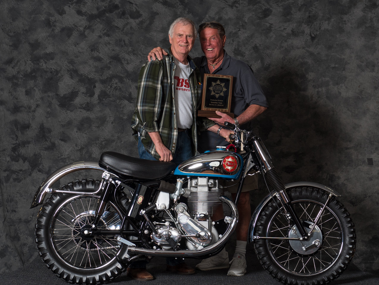 Dan Lowery, 1961 BSA Gold Star Catalina Scrambler,	Winning class: Scrambles/Trials, Production