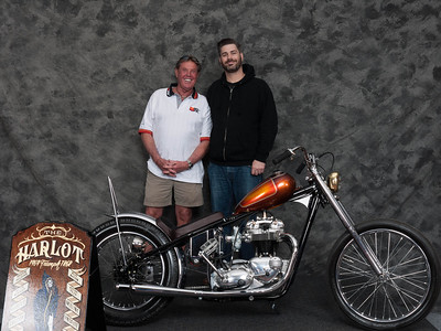 Eric Powers, Winner of Bobber / Chopper Open Class - 1969 Triumph TR6V