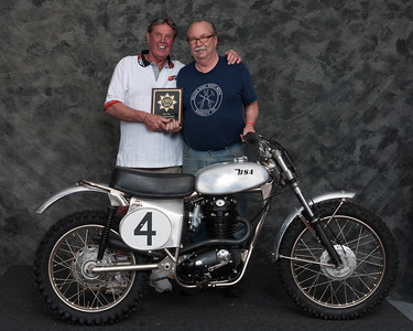 Fred Mork, Winner of Honorable Mention / Silver Star Award - 1967 BSA Ex Jeff Smith Motocrosser