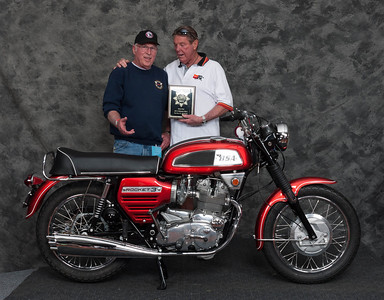 Bill Whalen, Winner of Honorable Mention / Silver Star Award - 1969 BSA Rocket 3